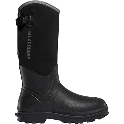 "Alpha Range 14"" Black 5.0MM (602240)  Waterproof  Insulated Modern Comfortable Hunting Combat Boot Best For Mud Snow"