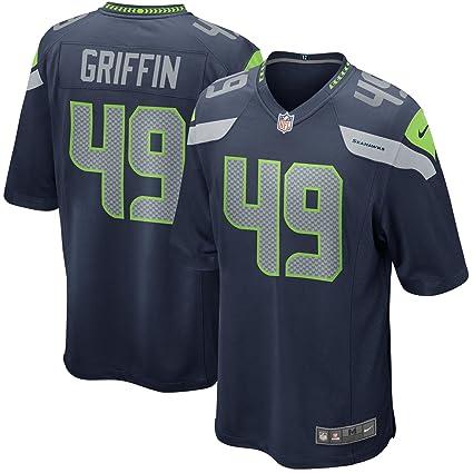 7d84da549db Amazon.com : NIKE Shaquem Griffin Seattle Seahawks College Navy Game Jersey  - Men's XL (X-Large) : Clothing
