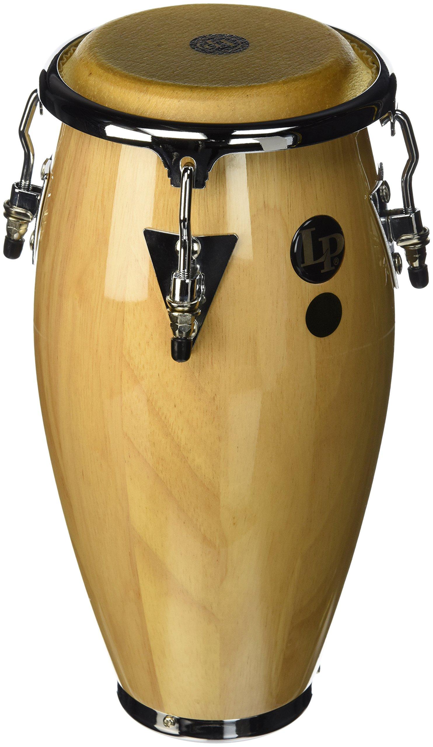 Lp Lpm198 Mini Tunable Wood Conga Natural by Latin Percussion