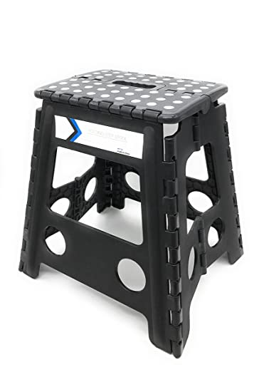 Folding Step Stool 16 Inches Height By Myth With Anti Slip Surface Great  For Kitchen