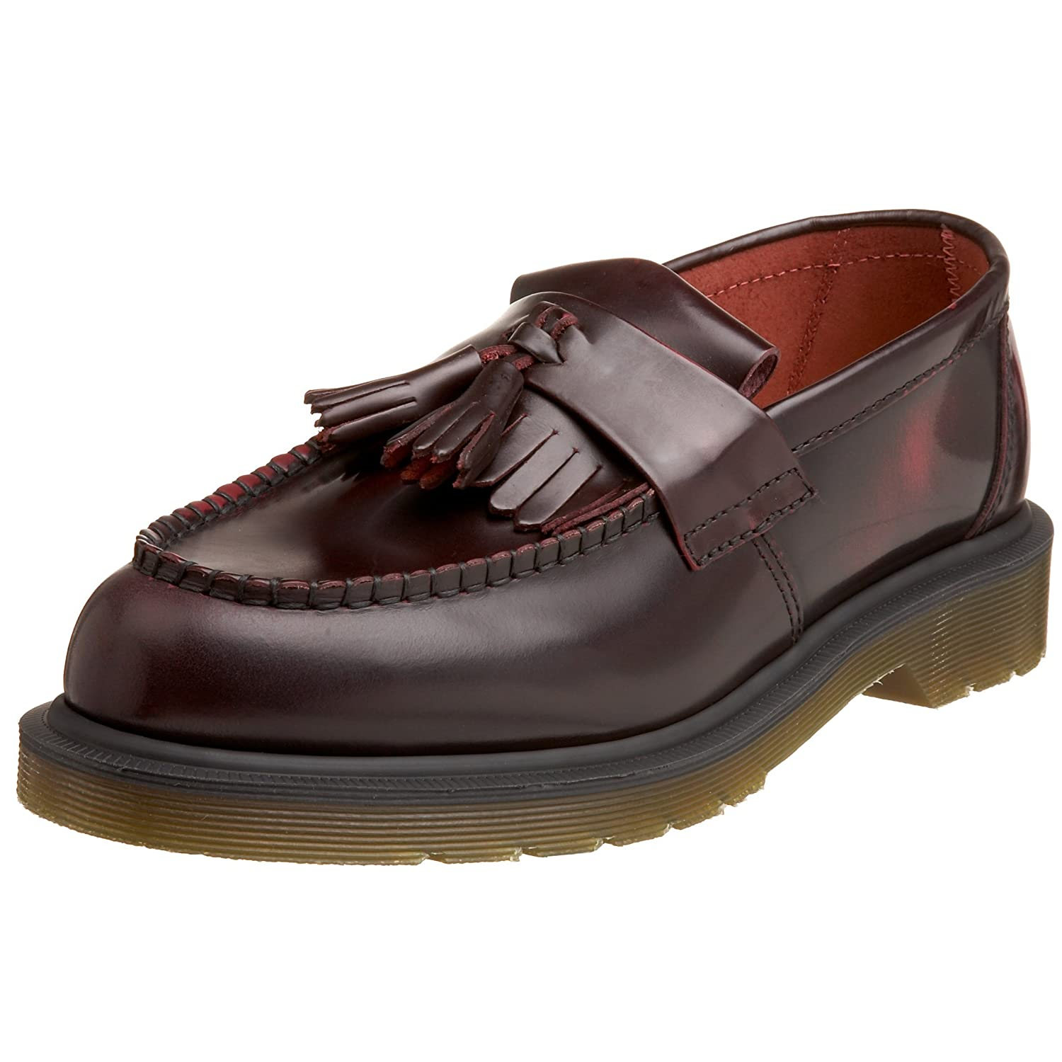 Adrian Black Virginia, Mocassins Femme, Noir (Black), 40 EUDr. Martens