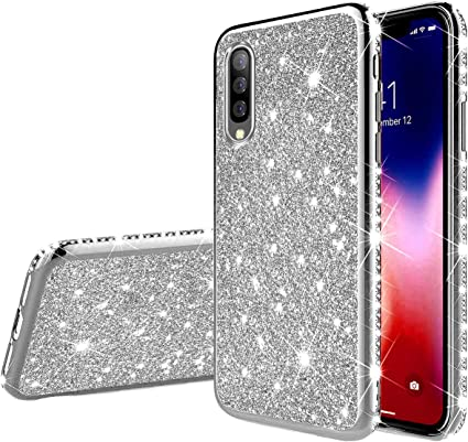 YSIMEE Compatible con Fundas Samsung Galaxy A70 Estuches,Brillante ...