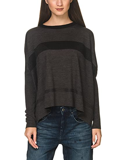 a220d67871 DEHA Women s Dark Melange Sweater Grey in Size Small at Amazon ...