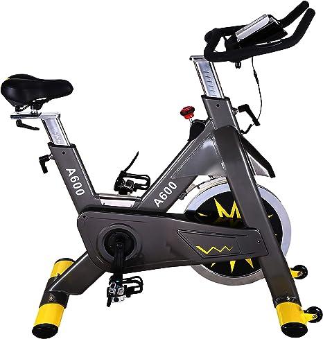 Kemket Bicicleta de Spinning para Interiores, Ejercicio Comercial ...