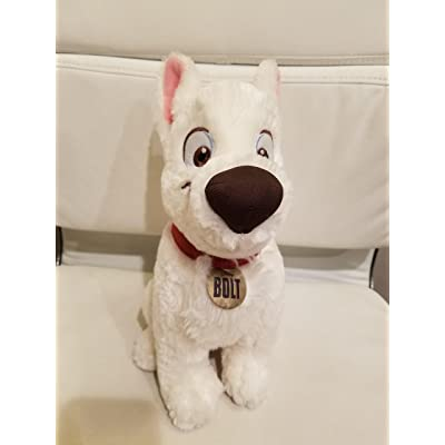 Disney Bolt Movie 14 Inch Deluxe Plush Figure Bolt: Toys & Games