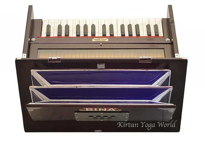 Hamronium Bina 23 B deluxe, 2.5 octavas, color caoba, modelo ...