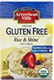 Arrowhead Mills Organic Hot Cereal, Rice & Shine, 24-Ounce Boxes (Pack of 4)