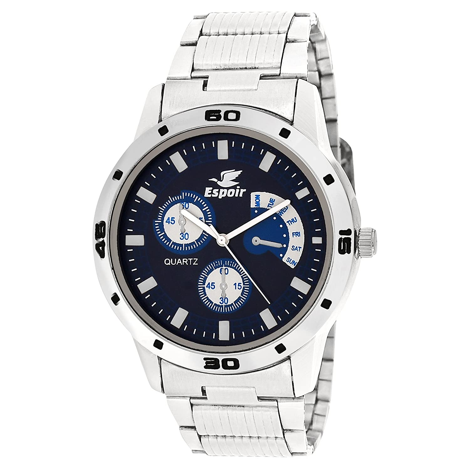Espoir Analogue Blue Dial Watch for Men