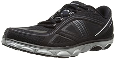 144728824c8db Brooks Men s PureFlow 3 Lightweight Running Shoes Black Silver(10)