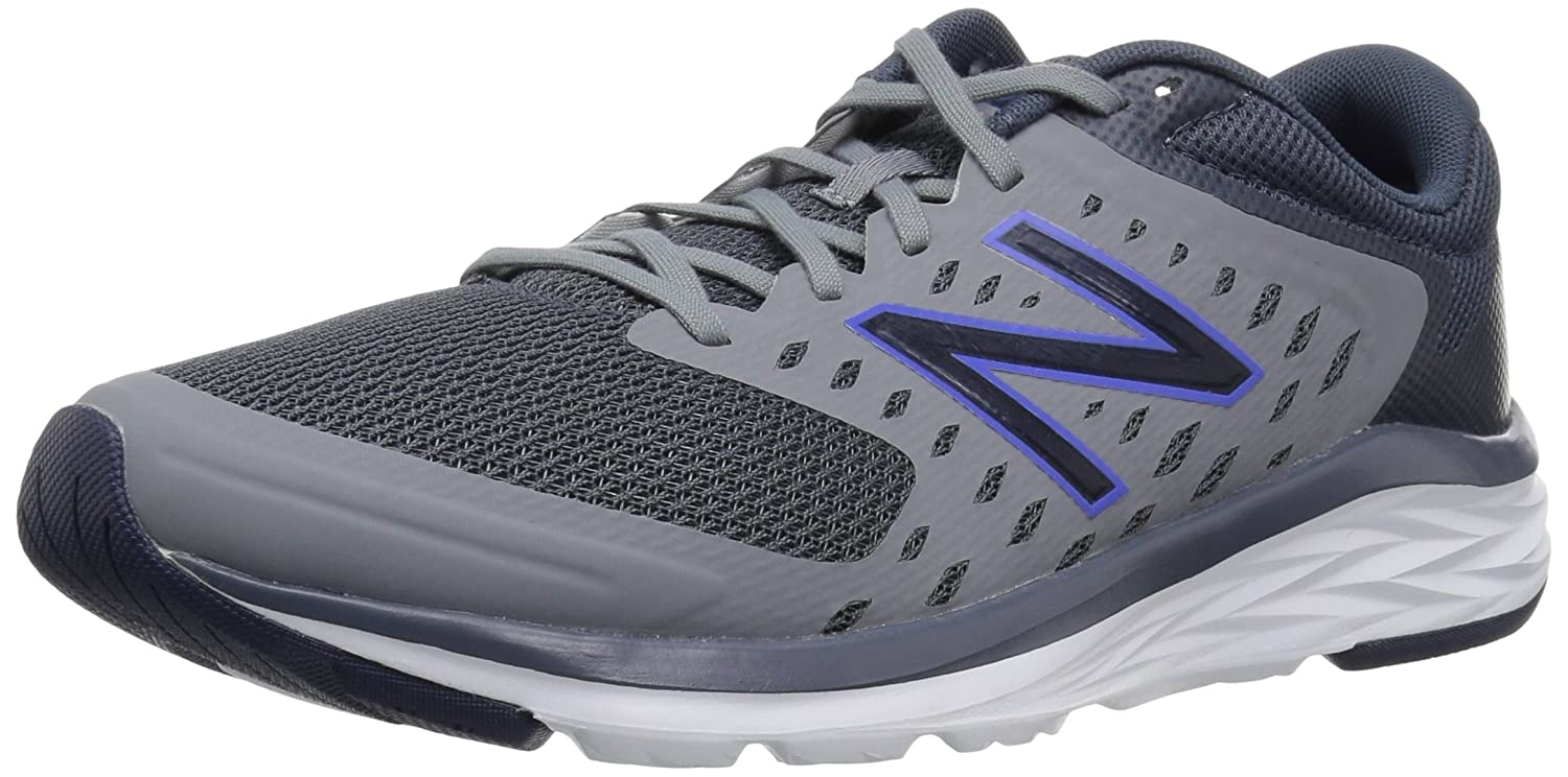New Balance Men's 490v5 Running Shoe B077MNKSLQ 13 D(M) US|Grey/Navy