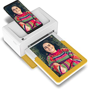 Kodak Dock Plus Instant Photo Printer – Bluetooth Portable Photo Printer Full Color Printing – Mobile App Compatible with iOS and Android – Convenient and Practical