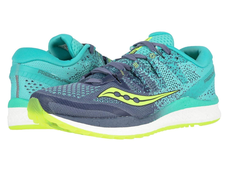 【はこぽす対応商品】 [サッカニー] レディースランニングシューズスニーカー靴 Freedom Grey/Teal ISO (24cm) 2 [並行輸入品] B07N8DZKVM Grey/Teal (24cm) 7.5 (24cm) B - Medium 7.5 (24cm) B - Medium Grey/Teal, 柿木村:4d80cdb7 --- a0267596.xsph.ru