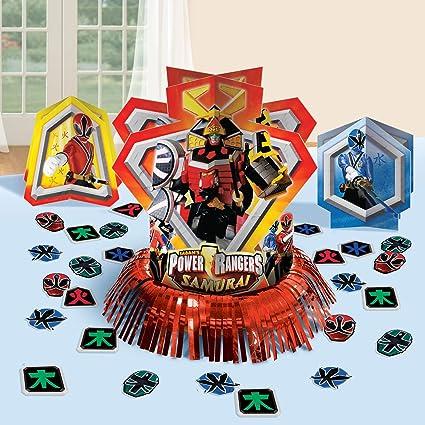 Power Rangers Samurai Table Decorating Kit (23pc)