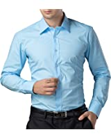 Men's Long Sleeve Shirts Button Down Slim Fit Fashion Solid 9 Colors CL5249
