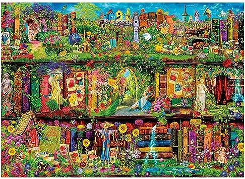 NuoEn 1000 Piezas Jigsaw Puzzles para Adolescentes Adultos Adultos ...