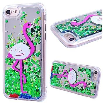 coque iphone 8 3d paillette