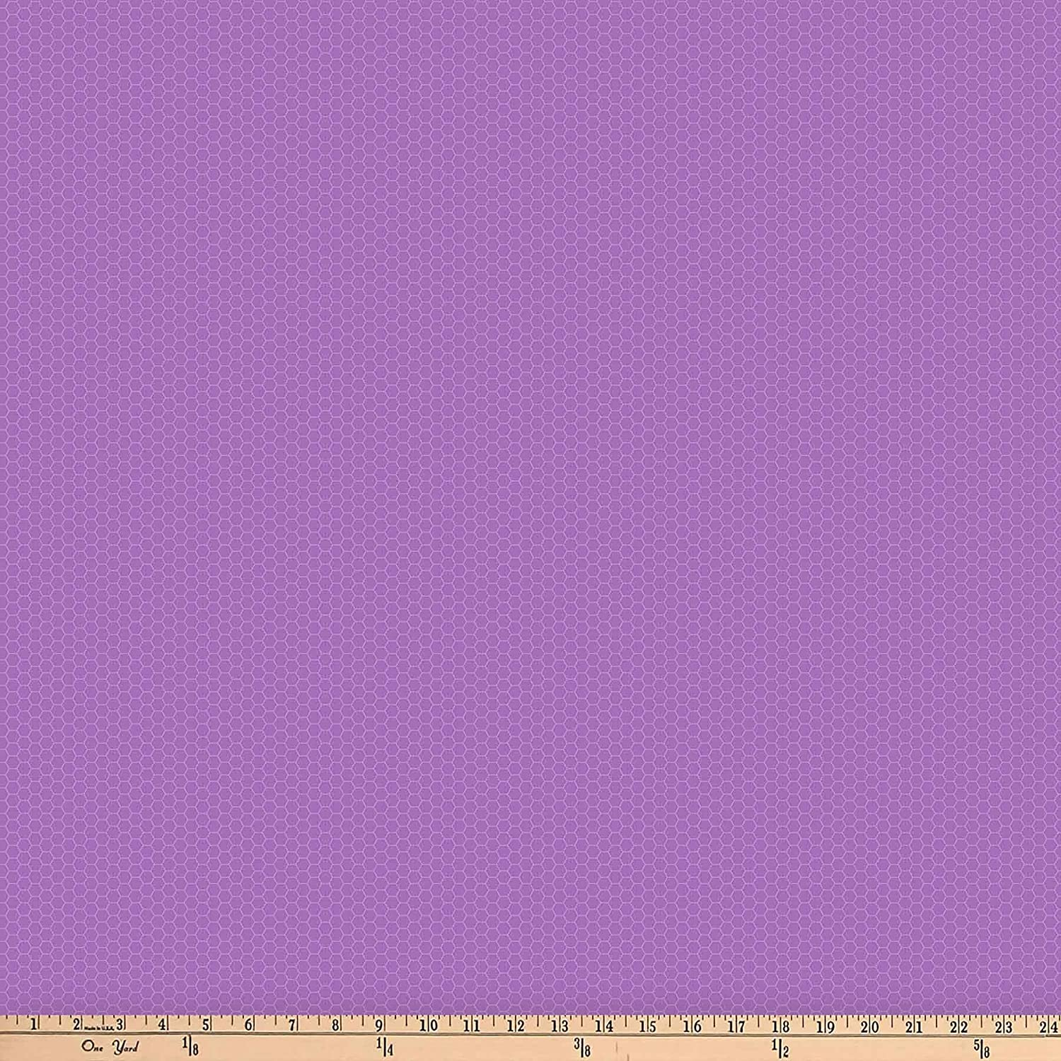 Northcott Chelsea Honeycomb Blender Red Purple Fabric by The Yard