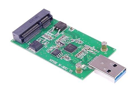 xiny USB 3.0 mSATA SSD adaptador de disco USB controlador no ...