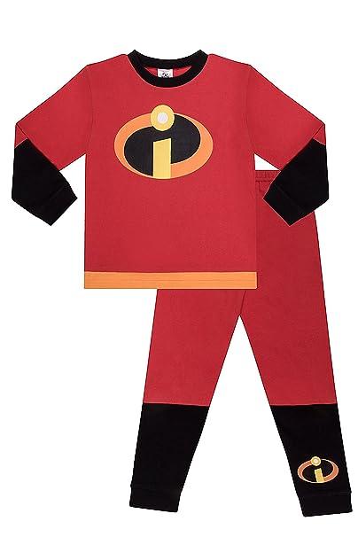 The Pyjama Factory - Pijama Dos Piezas - para Niño Rojo Rosso 4 Años