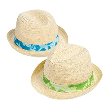 e3d71274795c9b Amazon.com: Adult¡¯s Tie-Dyed Band Straw Hats: Health & Personal Care