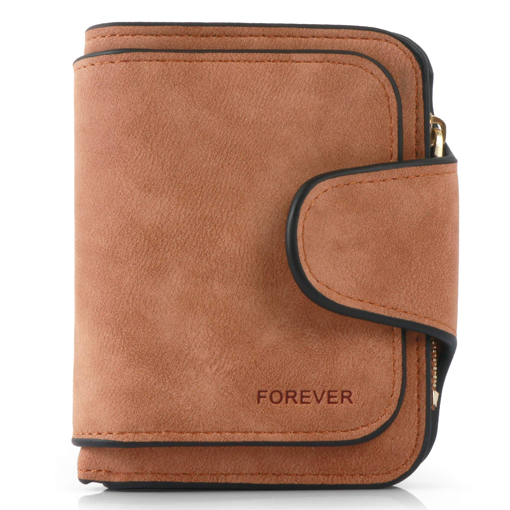 Women Purse Fashion Pu Leather Cute Clutch Small Ladies Credit Card Holder Wallet Organizer For Female Color - Brown by Pearl Angeli (Image #2)