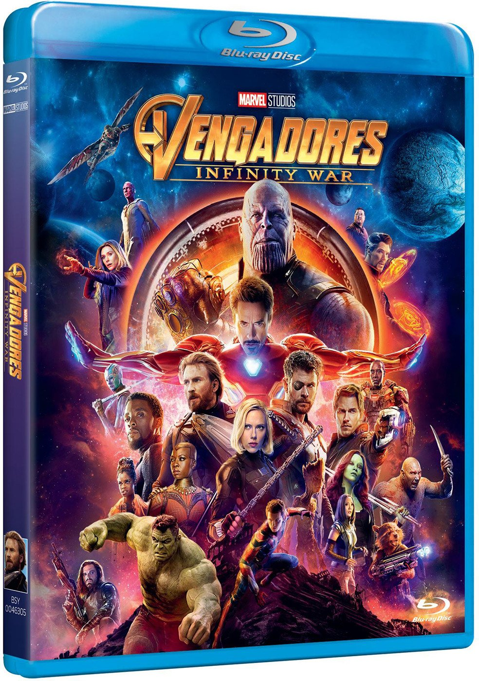 Bd Vengadores Infinity War [Blu Ray] by Amazon