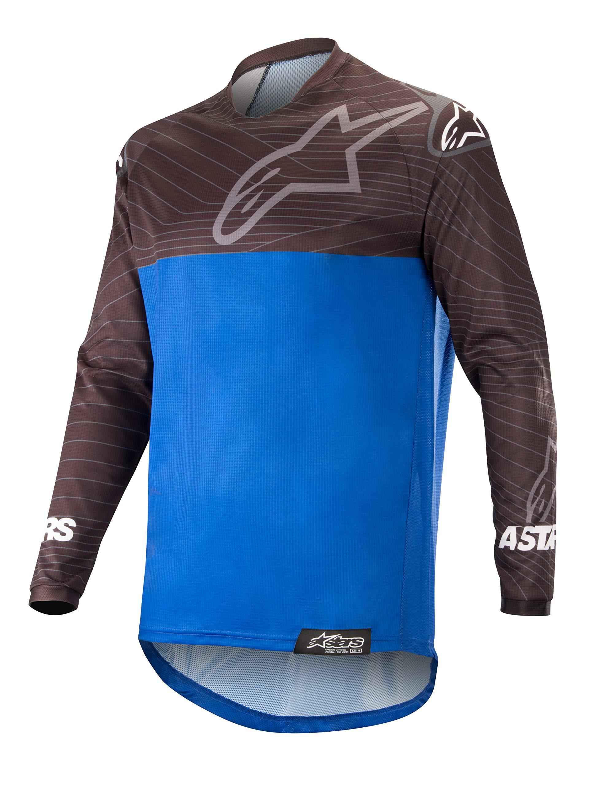 Venture R Off-Road Motocross Jersey (Medium, Black Blue)