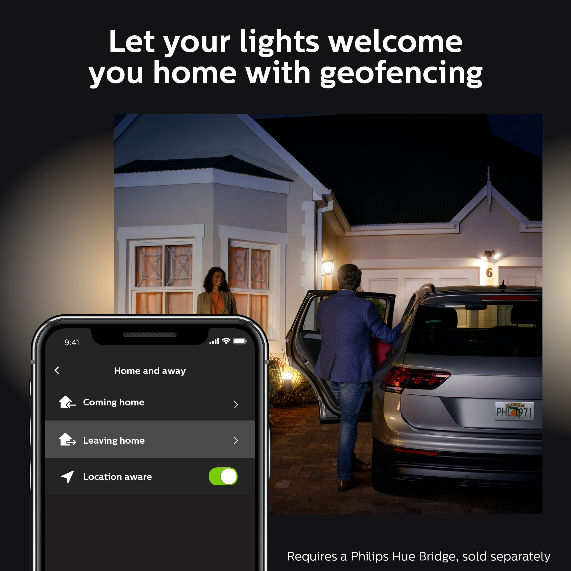 Philips Hue White Outdoor Par38 13w Smart Bulbs Philips