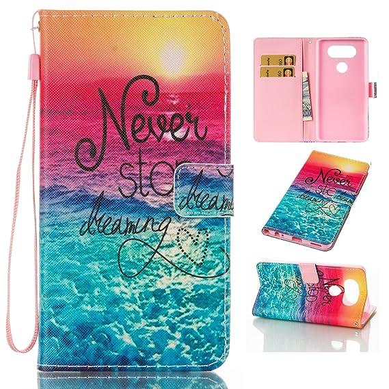 big sale 0d956 8077e LG V20 Case for Girls LG V20 Phone Case for Women,New LG V20 Wallet Phone  Case with Card Holder & Strap,Prime PU LG V20 Leather Cover Folio Flip LG  ...