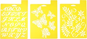 Delta Creative Stencil, 7 by 10-Inch, Garden