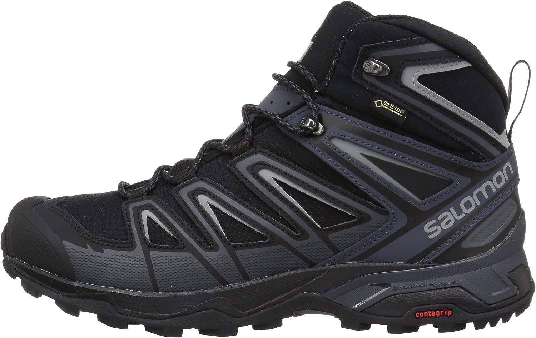 SALOMON Mens X Ultra 3 Wide Mid GTX Hiking Boot