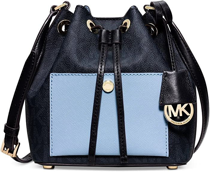 MICHAEL Michael Kors Greenwich Small Bucket Bag Baltic Blue
