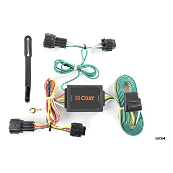 CURT 56084 Vehicle-Side Custom 4-Pin Trailer Wiring Harness for Select on