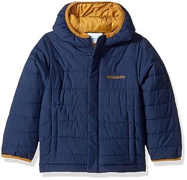 3947ccc0d Columbia Boys' Little Powder Lite Puffer Jacket, Collegiate Navy, XX-Small