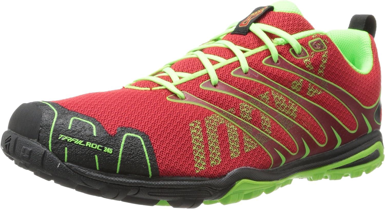 Inov8 Trailroc 245 Zapatillas de Running por Caminos (Ajuste estándar) - AW14 - Rojo, 45.5: Amazon.es: Zapatos y complementos