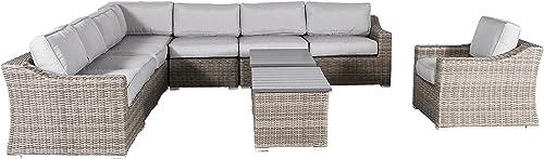 Century Modern Outdoor Marina Collection Patio Sofa Set