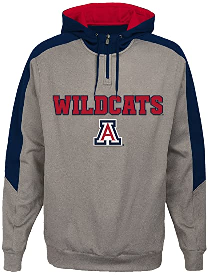 "de90548d NCAA by Outerstuff NCAA Arizona Wildcats Men's ""Illustrious"" 1/4  Zip Hoodie"