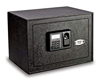 Viking Solid Steel Biometric Gun Safe VS-25BL