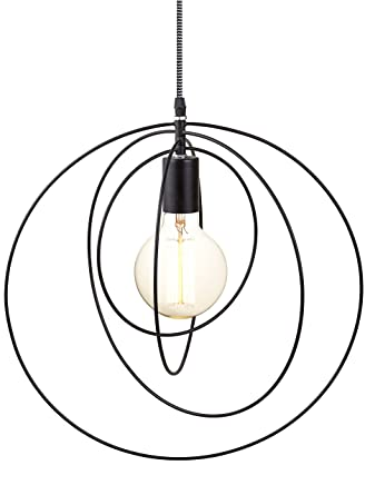 Danés lámpara de techo diseño circular de Mobile - 4 libre ...