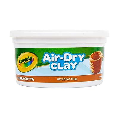 Crayola Terra Cotta Air Dry Clay 2.5 Pound Bucket: Toys & Games [5Bkhe0203852]