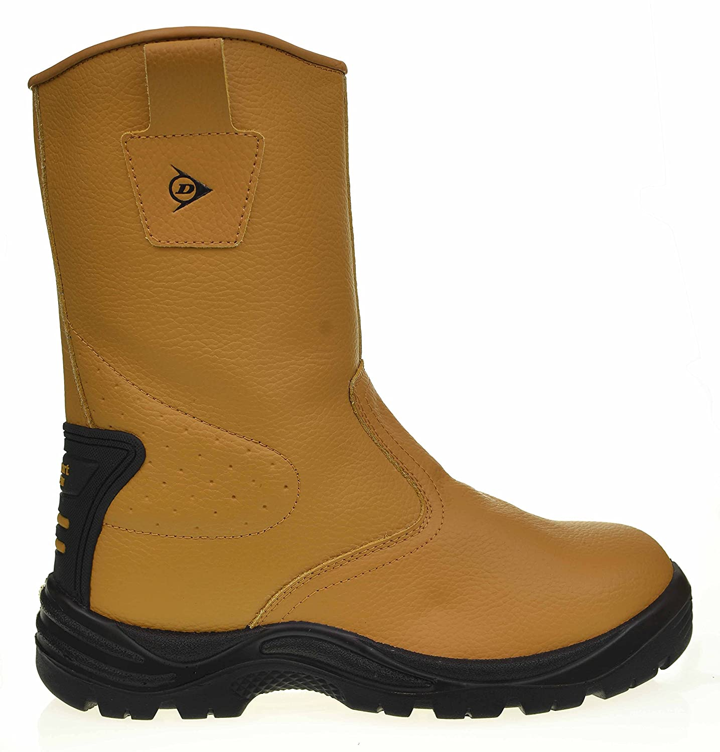 c38b3bc8124 Dunlop Men's Honey Rigger Boots Support System Safety Work Boots Shoes Size  7 8 9 10 11 12