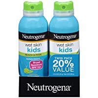 Neutrogena Wet Skin Kids Sunscreen Spray, Water-Resistant and Oil-Free, Broad Spectrum...