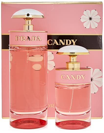 e87317b91cf3 Buy Prada Candy Florale 2 Piece Set Online at Low Prices in India -  Amazon.in
