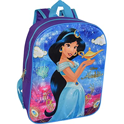 "Aladdin Princess Jasmine 15"" Backpack 