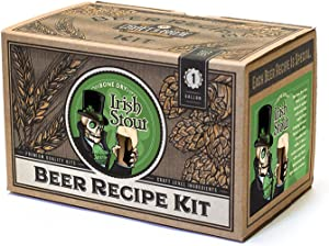 Craft a Brew Ingredient 1 Gallon Bone Dry Irish Stout Recipe Kit – Make Your Own Beer with Home Brewing