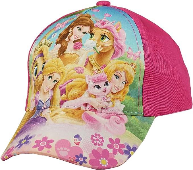 Disney Gorra de béisbol Princesas con Animales - Rosa, 54 cm: Amazon.es: Ropa y accesorios