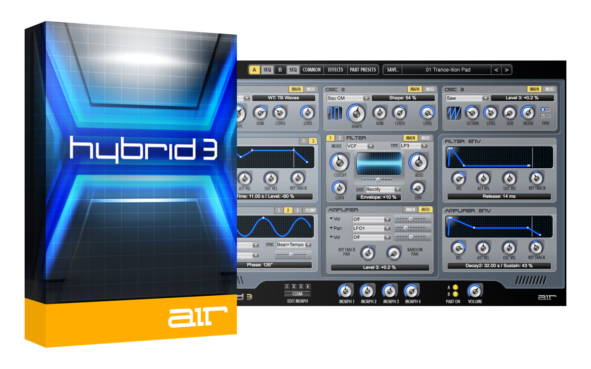 Tech Tools Download - Hybrid 3 - The Next Generation in Synthesis [Download]