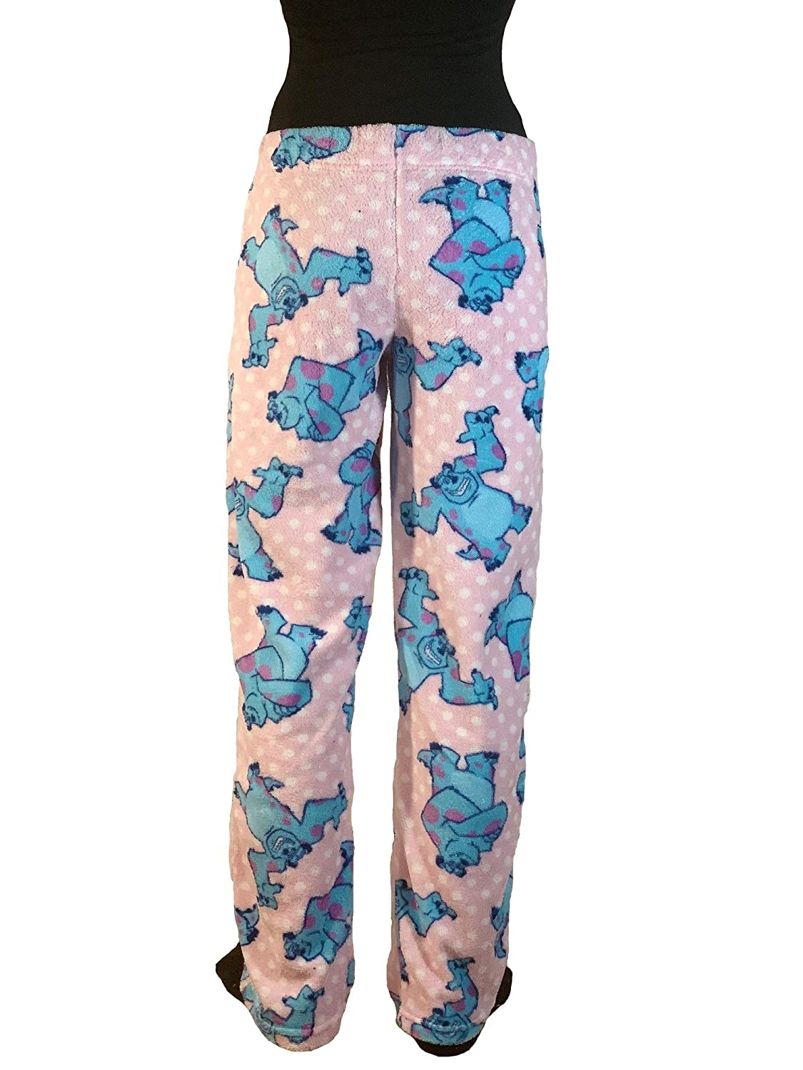 Pixar Disney Monsters Super Soft Plush Fleece Sleep Pants (Large ...
