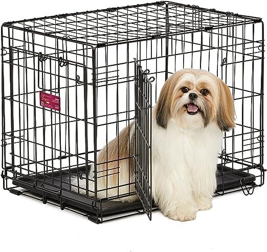 Alta calidad Luxus Perros jaula 62,5 x 45,4 x 49,5 cm caja de ...