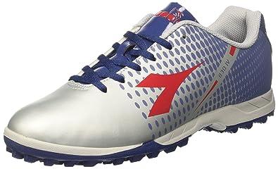 Diadora 830 IV TF, Zapatillas de Fútbol para Hombre, Gris (Argento DD BLU Estate RSS Carnum), 42 EU: Amazon.es: Zapatos y complementos